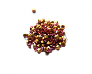 Crystal. Rhinestone Chaton. 4-4,1mm. Light Rose. 144 Ud.