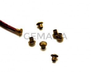 Brass. Part 7X6.3/3.2mm. Antique Gold. Inn. 3.2mm.