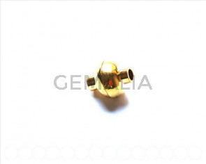 Magnetic Clasps. 13x15mm. Gold color. Hole:Approx 4MM.