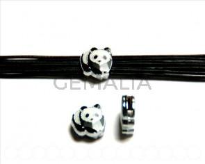 Metal. Panda 12x11x4mm.