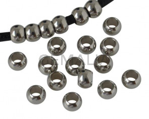 Stainless steel 304. Round. 5mm. Silver. Inn.3mm.