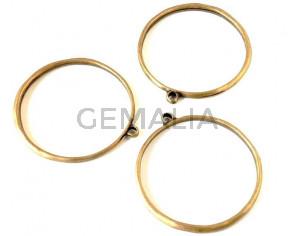Zamak. Bracelet. 68mm. Antique gold. Inn.62mm/4mm.