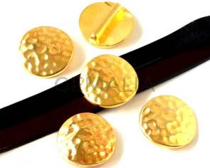 Zamak. Coin. 26.5mm. Gold. Inn.20x2.5mm.