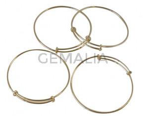 Meal1. Bracelet. 70.mm. Gold. Inn.1.8mm.