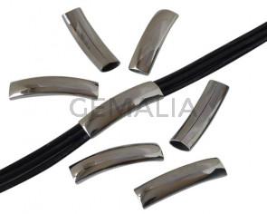 Sainless steel 304. Tube. 8x3mm. Silver. Inn.36x10mm.