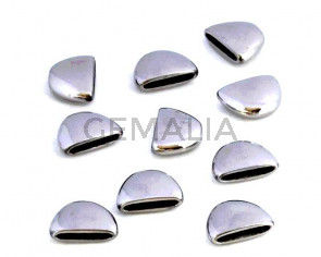 Stainless steel 304. Terminal. 13x10x4.5mm. Silver. Inn.10x1.5mm.