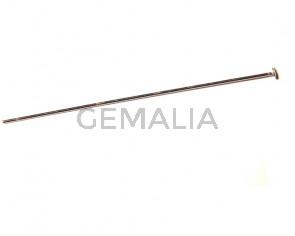 925 SILVER. Headpin 0,90-70mm 0,484gr/ud..