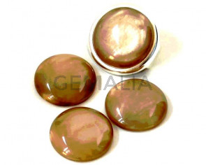 Resin. Cabochon. 20mm. Pearl stone. Best Quality.