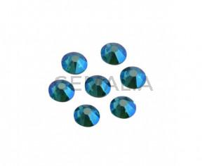 SWAROVSKI 2088 SS12 (3mm). Blue Zircon Shimmer