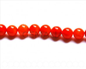 Coral BeadsNatural, Round -11mm. Sold per 16-inch strand.
