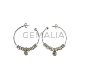 EARRINGS Brass-swarovski