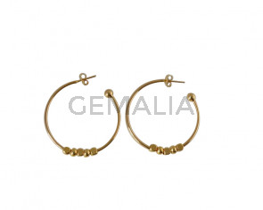 EARRINGS Brass
