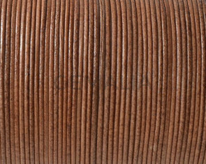 Kangaroo leather round 1mm. Beige. Best Quality.