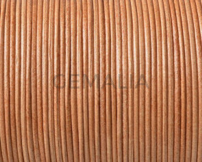 Kangaroo leather round 1mm. Natural. Best Quality.