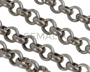 Zamak Chain. 6x6mm link. Silver