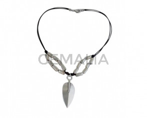 NECKLACE silver plated