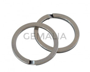 Zamak ring keychain 33x4mm - Inn.26mm