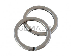 Zamak ring keychain 28x3mm - Inn.22mm